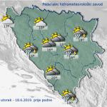 Danas u BiH pretežno oblačno vrijeme