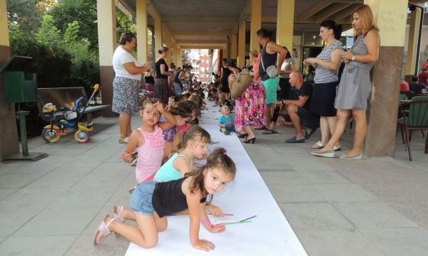 Djeca crtaju...