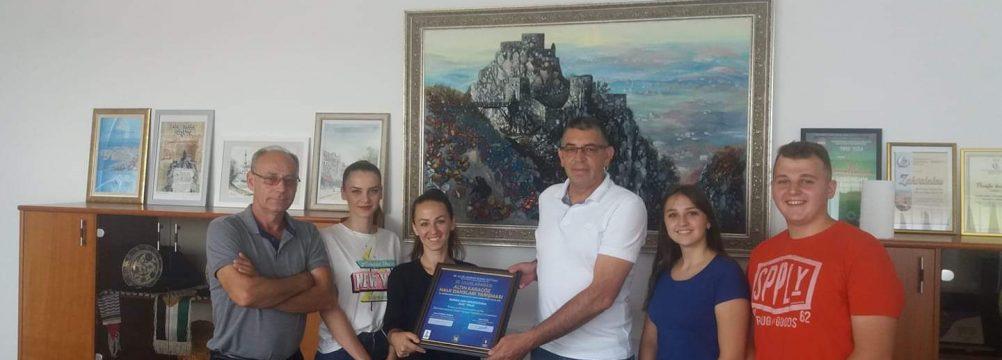 """Svečani prijem za članove KUD-a """"Tinja"""" Srebrenik"""