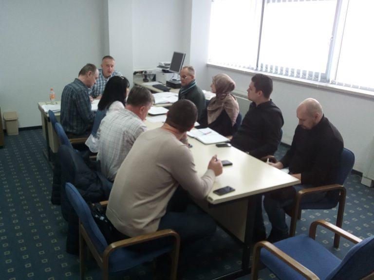 Održana konstituirajuća sjednica tima za implementaciju LEAP-a u Srebreniku