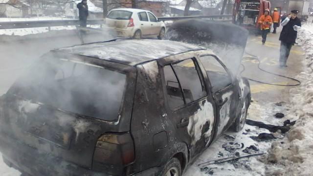 Izgoreno auto u Bjelavama