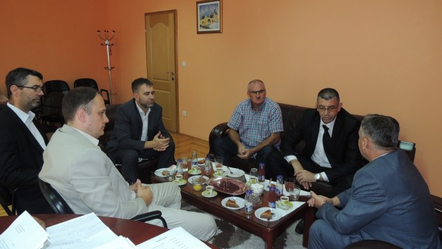 Posjeta šehidskim porodicama i Bajramski prijem u Medžlisu IZ Srebrenik