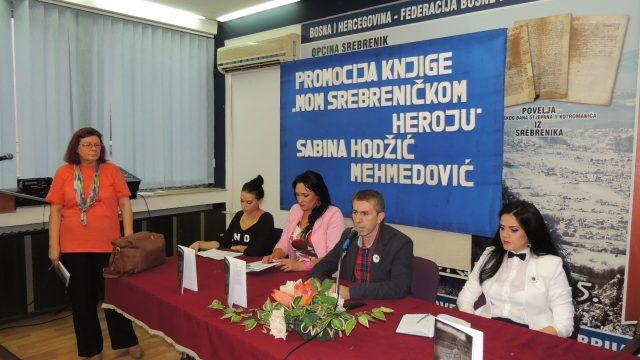 """Promocija romana """"Mom srebreničkom heroju"""""""