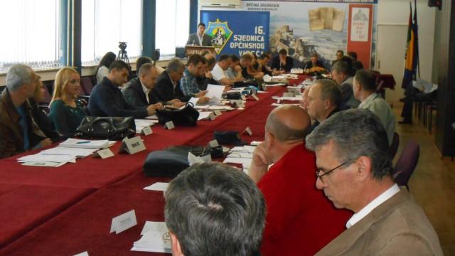 Održana 16. sjednica OV Srebrenik