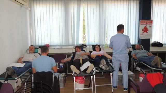 Akcija darivanja krvi u Srebreniku – Prikupljeno 66 doza krvi