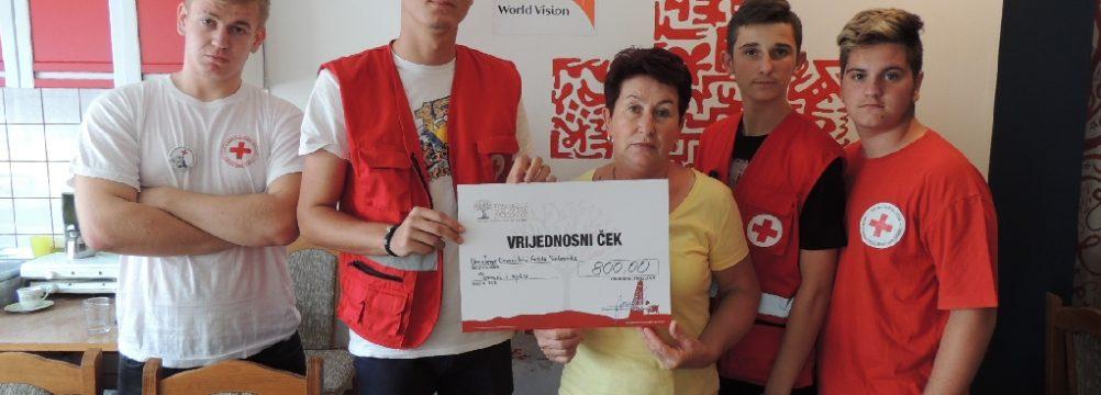 """Projekt Crvenog krsta Srebrenik """"Pomozi i spasi"""""""