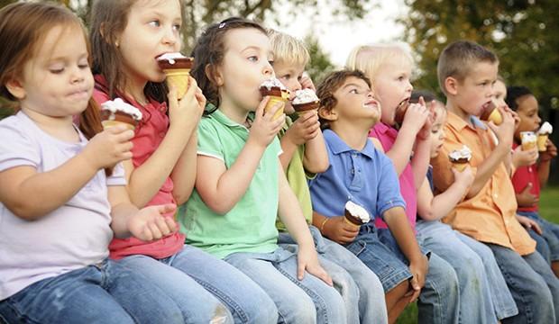 djeca sladoled