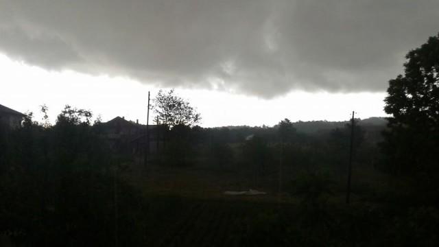 nebo prije poplava