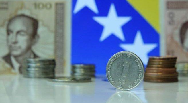 Ekonomski rast BiH smanjen za tri posto