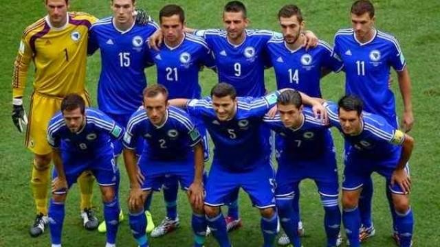 Fudbalska reprezentacija BiH protiv Lihtenštajna u Tuzli