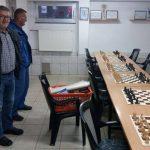 Nove garniture u prostorijama Šahovskog kluba Srebrenik
