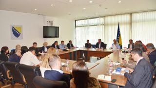 Održan sastanak Operativnog štaba za pitanje migracija u BiH