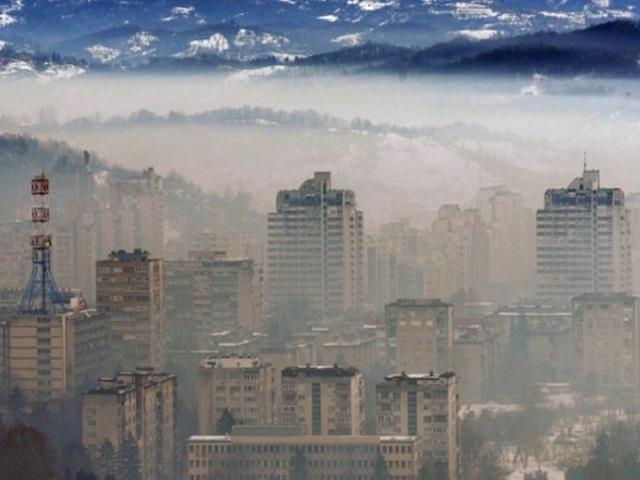Visoka koncentracija zagađujućih materija u zraku u više bh. gradova