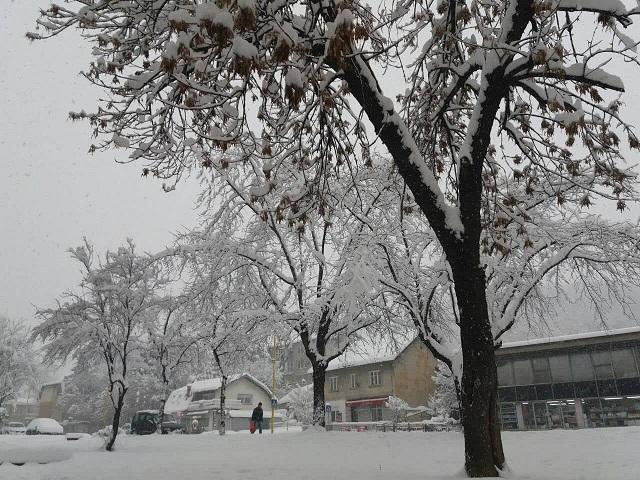 Do subote snijeg u BiH, temperature do -10 stepeni