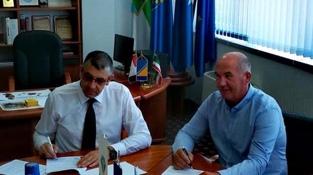 Potpisan ugovor o izgradnji kolektora u poslovnoj zoni Srebrenik-2